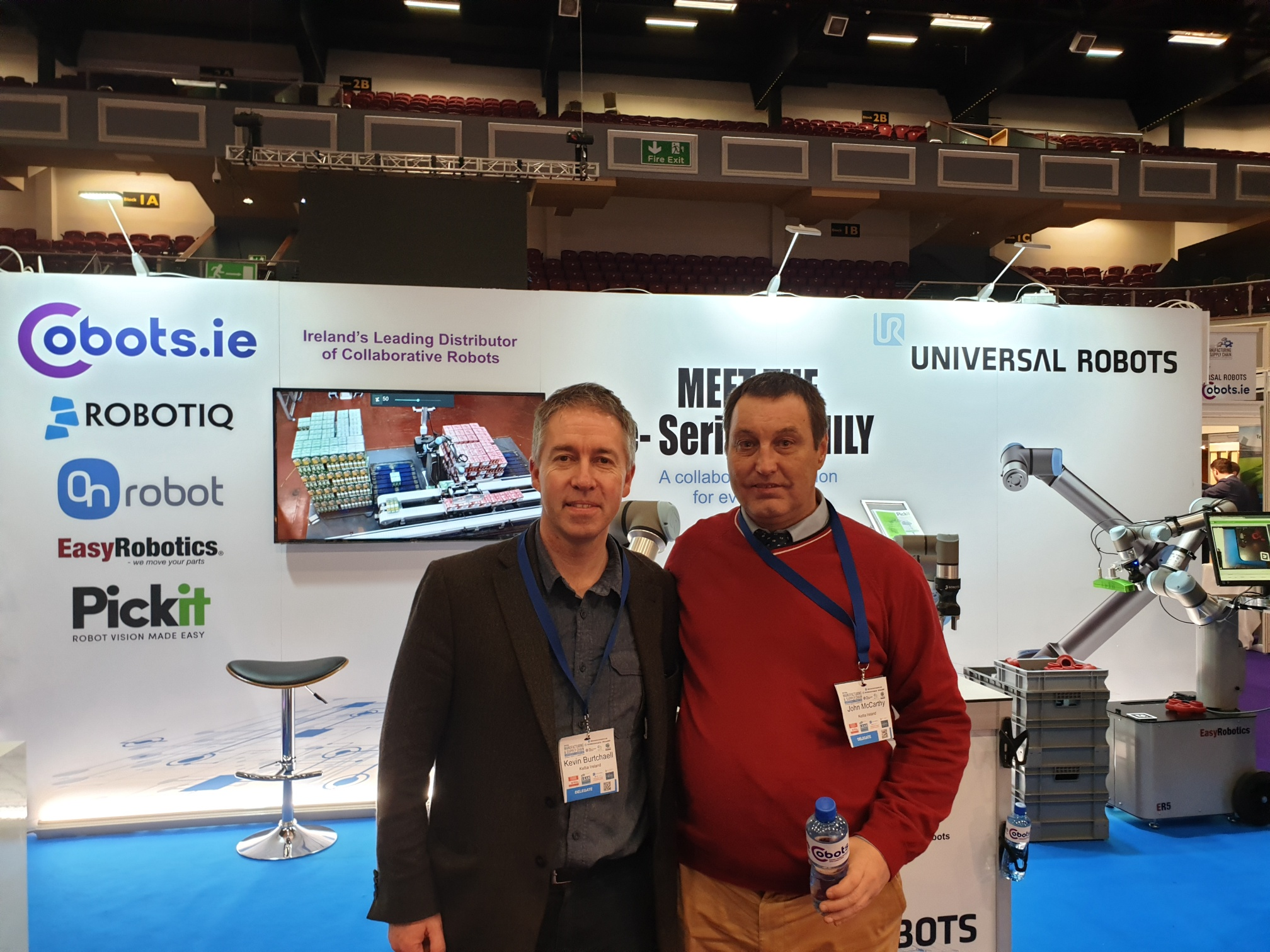 Kevin & John from Keltia Ireland Ltd Viset the NMSC 2019 in Dublin